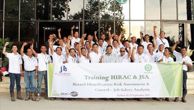 Batulicin, Training Horac dan Jsa PT Jhonlin Baratama