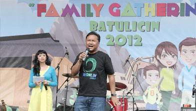 Batulicin, family ghatering Jhonlin Group
