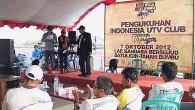Batulicin, Super Special Stage Offroad, Indonesia Utv Club, IMI kalimantan selatan