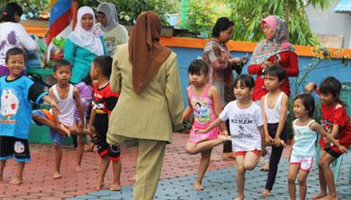 Batulicin_Kunjungan TK Jhonlin Pertiwi Taman bermain