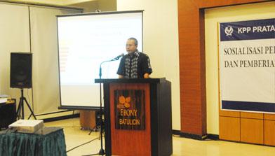 Batulicin, Sosialisasi pajak, Jhonlin Group
