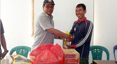 Batulin, CSR Peberian bantuan Korban Bencana Alam, Jhonlin Group.