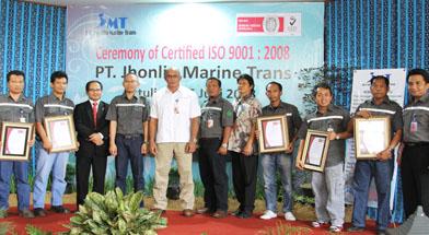 Batulicin, ISO PT. Jhonlin Marine Trans, Jhonlin Group