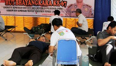 Donor Darah, H Isam, h-isam, Batulicin, Kalimantan Selatan, jhonlin Group