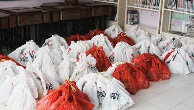 CSR, Paket Lebaran, Jhonlin Group, Batulicin, Kalimantan Selatan, H Isam, h-isam