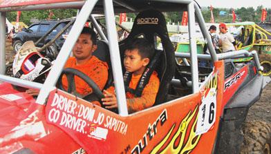 Pembalap Cilik Kalimantan Selatan, IUTV Club, Batulicin, Jhonlin Group, H Isam, h-isam