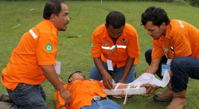 Jhonlin Group, PT. Dua Samudera Perkasa, Kalimantan Selatan, H Isam, h-isam, first aid
