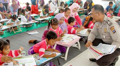 Jhonlin Group, Kalimantan Selatan, Batulicin, TK Jhonlin Pertiwi, Polres Tanbu, h isam