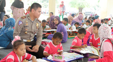 Jhonlin Group, Kalimantan Selatan, TK Jhonlin Pertiwi, Polres Tanbu, h isam