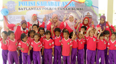 Jhonlin Group, Kalimantan Selatan, Batulicin, TK Jhonlin Pertiwi, Lomba di polres tanbu, h isam