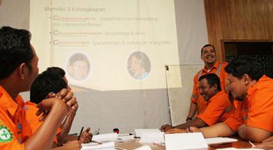 Jhonlin group, PT. Dua Samudera Perkasa, Pelatihan tingkat pengawas, Kalimantan Selatan, Batulicin, h isam