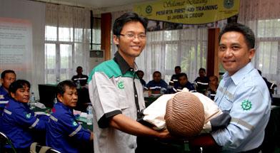 Jhonlin Group, PT. Jhonlin Marine Trans, SHE JG, First Aid, Kalimantan Selatan, Batulicin, h isam