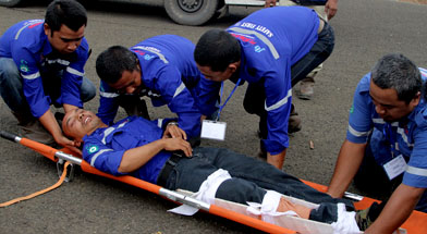 Jhonlin Group, PT. Jhonlin Baratama, First aid, Kalimantan Selatan, Batulicin, h isam