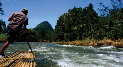 Jhonlin Group, sibuta, Kalimantan Selatan, Batulicin, Loksado, bambo rafting, h isam
