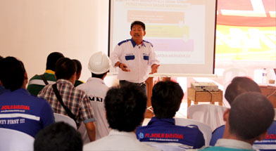 Jhonlin Group, safety driving clinic, Kalimantan Selatan, Batulicin, h isam