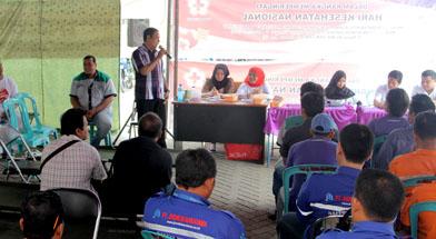 Jhonlin Group, SHE Jhonlin Group, Donor Darah, Hari Kesehatan Nasional, Kalimantan Selatan, Batulicin, h isam