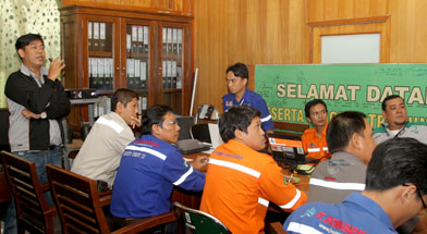 Jhonlin Group, SHE Jhonlin Group, Kalimantan Selatan, Batulicin, Qlik view, h isam