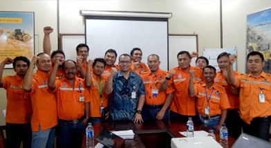 Jhonlin Group, PT. Dua Samudera Perkasa, Eksternal Audit, Kalimantan Selatan, Batulicin, h isam