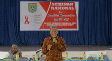 Jhonlin Group, Semninar Nasional HIV AIDS 2013, Kalimantan Selatan, Tanah bumbu, Batulicin, h isam