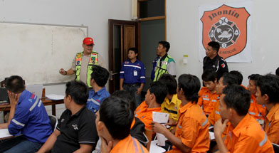 Jhonlin Group, SHE, Fire and Response Team, Kalimantan Selatan, Batulicin, h isam