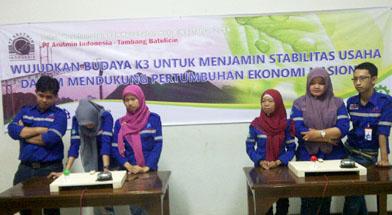 Jhonlin Group, Cerdas cermat, Bulan K3, SHE Jhonlin Group, Kalimantan Selatan, Batulicin, h isam
