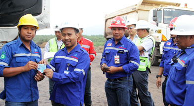 Jhonlin Group, SHe Jhonlin Group, Bulan K3 Nasional 2014, Kalimantan Selatan, Batulicin, h isam