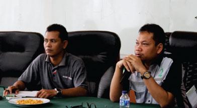 Jhonlin Group, Meeting koordinasi, Kalimantan Selatan, Tanah Bumbu, Batulicin, h isam