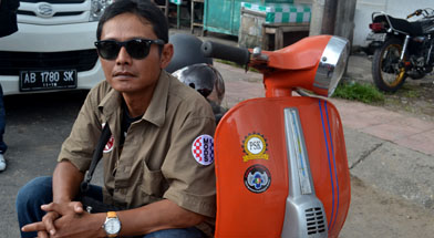 Jhonlin Group, Mataram Sccoter Club, Vespa, Kalimantan Selatan, Tanah Bumbu, Batulicin, h isam