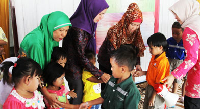 Jhonlin Group, TK Jhonlin Pertiwi, Panti Asuhan, Kalimantan Selatan, Batulicin, h isam