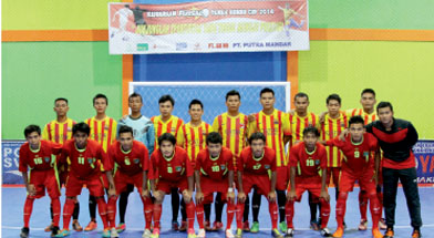 Jhonlin Group, Jhonlin futsal, Kalimantan Selatan, Batulicin, h isam