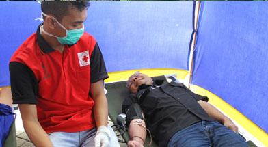 Jhonlin Group, Hari Gizi, Donor Darah, Senam Sehat, Kalimantan Selatan, Tanah Bumbu, Batulicin, h isam