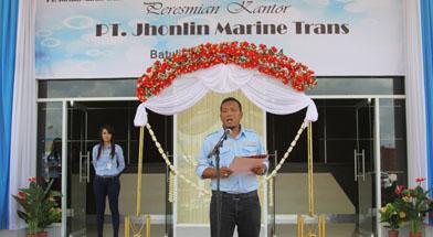 Jhonlin Group, PT. Jhonlin Marine Trans, Peresmian Gedung, Kalimantan Selatan, Tanah Bumbu, Batulicin, h isam