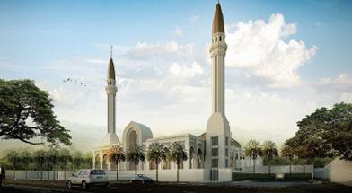 Jhonlin Group, Kalimantan Selatan, Tanah Bumbu, Batulicin, Masjid Jami Al -Falah, Masjid Agung, h isam