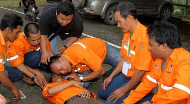 Jhonlin Group, PT. Dua Samudera Perkasa, People Development, Kalimantan Selatan, Tanah Bumbu, Batulicin, In house training, h isam