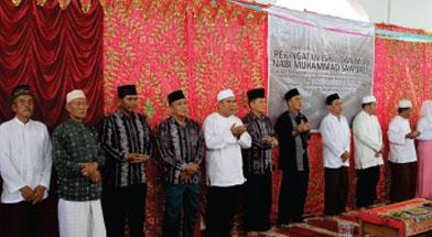 Jhonlin Group, CSR, External Relation, Kalimantan Selatan, Tanah Bumbu, Batulicin, Isra Mi'raj, h isam