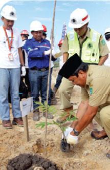 Jhonlin Group, PT. Jhonlin Baratama, Hari Lingkungan Hidup 2014, Kalimantan Selatan, Tanah Bumbu, Batulicin, h isam