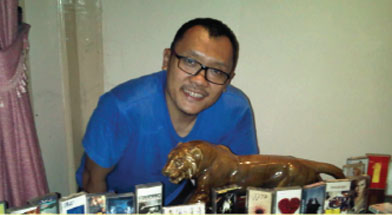 Jhonlin Group, PT. Jhonlin Baratama, Hobbies, Koleksi kaset, Kalimantan Selatan, Tanah Bumbu, Batulicin, h isam