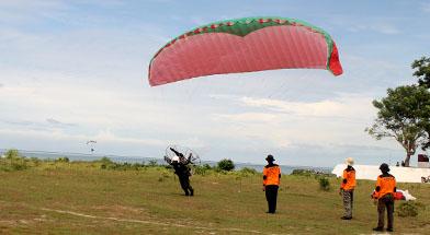 Jhonlin Group, Training Paramotor, Jhonlin Security Service, Kalimantan Selatan, Tanah Bumbu, Batulicin, h isam