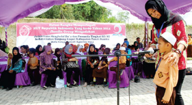 Jhonlin Group, Peningkatan Pendidikan, Hari Kemerdekaan, Kalimantan Selatan, Tanah Bumbu, Batulicin, h isam