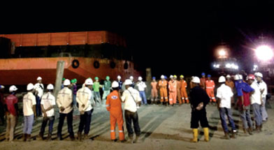 Jhonlin Group, PT. Jhonlin Marine Trans, Docyard, Tongkang, Tagboat, Batulicin, Tanah Bumbu, Kalimantan Selatan