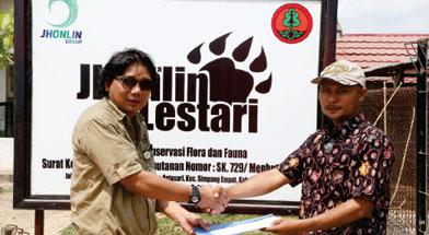 Jhonliin Group, jhonlin Lestari, BKSDA Kalsel, Konesrvasi, Buaya Muara, Batulicin, Tanah Bumbu, Kalimantan Selatan