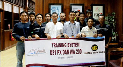 Jhonlin Group, PT. Jhonlin Marine Lines, Preventif Maintenance, Batulicin, Tanah Bumbu, Kalimantan Selatan