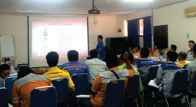 Jhonlin Group, SHE, First Aid Training, Batulicin, Tanah Bumbu, Kalimantan Selatan, SHE, PT. Jhonlin Baratama