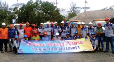 Jhonlin Group, SHE, First Aid Training, Batulicin, Tanah Bumbu, Kalimantan Selatan, SHE, PT. Jhonlin Baratama