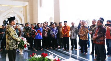 Jhonlin Group, Masjid Al-Falah, Batulicin, Tanah Bumbu, Kalimantan Selatan