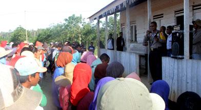 Jhonlin Group, PT. Jhonlin agro lestari, Batulicin, Tanah Bumbu, Kalimantan Selatan, Polres, Binmas
