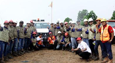 Jhonlin Group, PT. Jhonlin Baratama, ISDC, Safety Driving, SHE, Batulicin, tanah Bumbu, Kalimantan Selatan