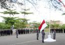 Khidmatnya Upacara Kemerdekaan RI ke-71 di Kantor PT. Jhonlin Sasangga Banua