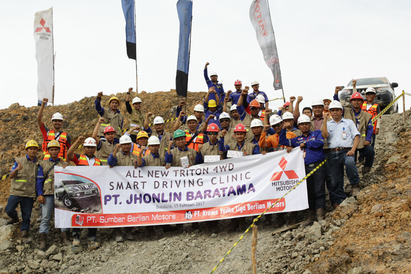 jholin group, PT.Jhonlin Baratama, Safety driving