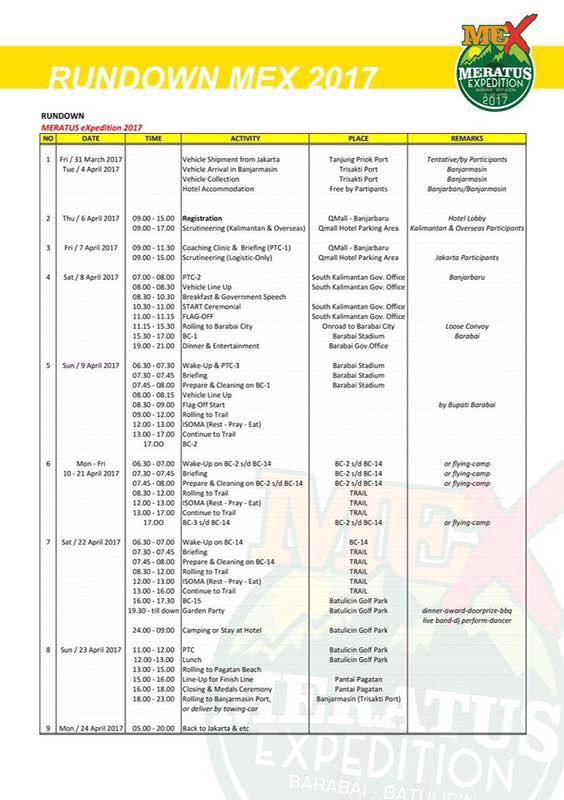 JhonlinMagz, IUTVClub, IOX, Jhonlin Group, MEX 2017, Offroad, Batulicin, Tanah Bumbu
